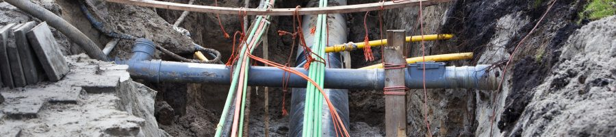 Underground pipes and cables in the Netherlands